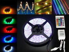 5 M RUBAN LED RGB + TELECOMMANDE DECORATION A LED POUR PISCINE MAISON CHAMBRE
