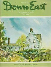 Down East Maine Magazine 1972 June Cushing/Newfield/Bowdoin/Burying Island