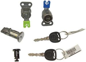 2007-2009 Opel GT New Ignition Cylinder W/2 Keys 2 Door Locks Glove Box 25880947