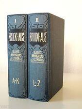Brockhaus Kleines Konversationslexikon - 5. Auflage in 2 Bänden - Faksimile 2000