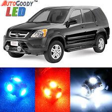 4 x Premium Xenon White LED Lights Interior Package Kit for Honda CRV