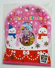 Crux Winter Christmas Snowman Kawaii Stickers Sack sticker flakes stationery