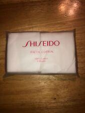 Shiseido Facial Cotton 8 Sheets 100 % Cotton Brand New