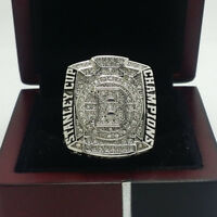 Year 2011 Boston Bruins Stanley Cup Championship Copper Ring 8-14Size