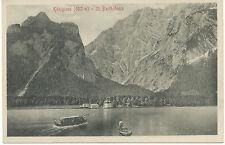 D ST. BARTHOLOMAE am KÖNIGSSEE, ca. 1910 ungebr. s/w AK (Stengel & Co., Dresden)