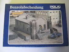 POLA H0 582 Fabrik Gas BENZOL ABSCHEIDUNG MIT Schachtel FERTIG GEBAUT Plastik