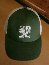 Wrangler 20X Western Baseball Cap - Green & Tan NEW - Snapback Hat