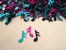 METALLIC Music Notes CONFETTI 50's 80's Decade Party Decoration SOCK HOP Grease