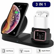 5 Core 3in1 Qi Wireless Fast Charger Dock Stand for Apple Watch Air pods iPhone
