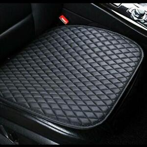 1Pcs PU Leather Car Front Seat Protector Pad Protector Cushion Black Chair Cover