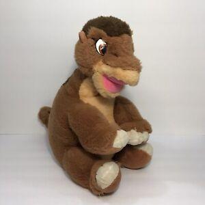 "Vintage 1988 Gund The Land Before Time Little Foot 16"" Stuffed Plush Dinosaur"