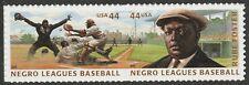 US 4465-4466 4466a Negro Leagues Baseball 44c pair set (2 stamps) MNH 2010