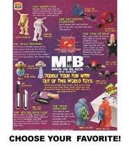 Burger King 1998 Vintage Men In Black: The Series Toys-Pick Your Favorite!