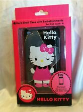 HELLO KITTY For iPod Touch 4 Hard Shell Case NIB Rare Design 8gb, 32gb, 64gb Pnk