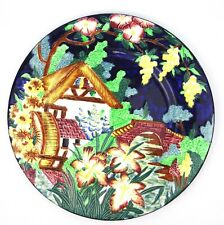 Maling Watermill Tube Lined Plate 28 cm