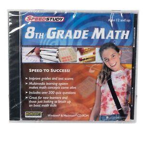 Speedstudy 8th Grade Math  Take the quick path to math success  NEW