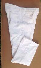 Women's Tommy Hilfiger Corduroy Pants White 16 Stretch