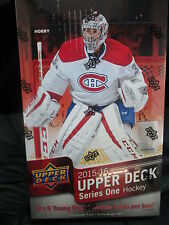 2015-16 UPPER DECK serie 1 Hockey Hobby Caja Sellada