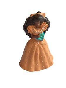 Vtg Barbie Princess Doll Happy Meal Toy 1992 Peach Cake Topper African American