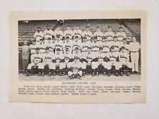 Indians 1950 Team Picture Bob Feller Joe Gordon Dale Mitchell Al Rosen