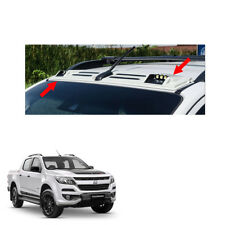 New Chevrolet Holden Colorado 17 + LED Front Roof Spoiler Cover White Trim 1 Pc