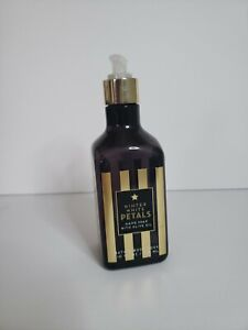 BATH & BODY WORKS WINTER WHITE PETALS Pump HAND SOAP WITH OLIVE OIL 10oz NEW!