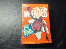 Michael Jordan Wheaties box shrink wrapped 18 oz   MJ poster on box  part A