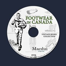 Footwear in Canada – Vintage Magazine E-books 12 Volumes PDF on 1 DVD Shoes Foot