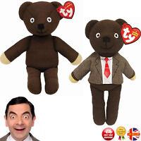 Mr Bean Teddy Bear Toy Cartoon Figure Knitted Beanie Bear Novelty Kids