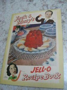 Jack & Mary's JELL-O Recipe Book