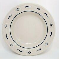 LONGABERGER Woven Traditions Classic Blue Rim Soup Bowl