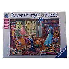 Ravensburger Puzzle Seamstress Shop 1000 Pieces 2019 No 152766 Dress Shop