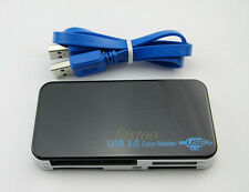 USB 3.0 All in One Multi Memory Card Reader CF XD SD HC MS M2 SDXC with Cable fo