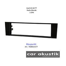 Zubehör BLAUPUNKT Audi A3 A4 TT Autoradio Blende Einbaurahmen