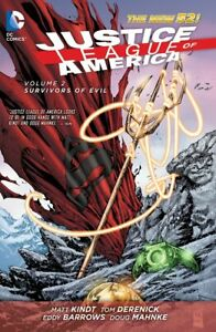 Justice League of America Vol. 2: Survivors of Evil (The New 52) Hardcover New