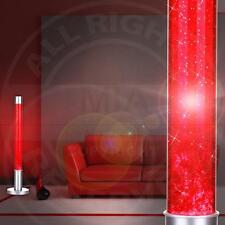 MIA Lava Lampe 760mm/ 1x40W/ Glitter/ Rot/ Leuchte Lavaleuchte Deko Steh