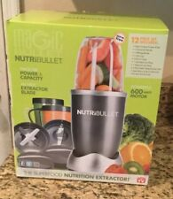 Magic Bullet NutriBullet 12-Piece High-Speed Blender/Mixer System New in the Box