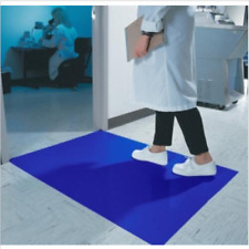 """Laboratory Tacky Sticky Mat 1 Case 10 Units 300 Sheets Dust Cleaner 18""""×36"""""""