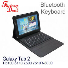 Bluetooth Keyboard Folio Cover Stand For Galaxy Tab2 P7510 7500 5100 5110