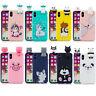 3D Cartoon Panda Bear Dog Unicorn Soft Silicone Phone Case For Samsung Galaxy