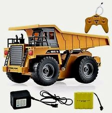 RC Metal Dump Truck Six Channel HuiNa Construction 1/18  alloy (Fast Shipping)