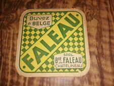 Bière brasserie sous-bock Faleau