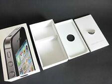 nur VERPACKUNG für iPhone 4S 64GB schwarz *ohne iPhone* Box Schachtel Karton