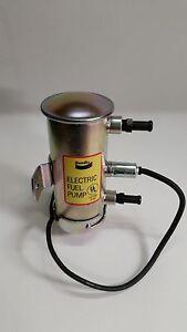 Bendix style silver top electric fuel pump