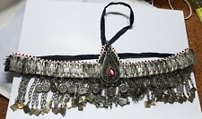 Afghan Kuchi Headpiece Tribal Head dress Piece Band Belly Dance Ethnic (GB)