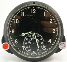 60-ChP Russian Military Air Force Aircraft Cockpit Clock MIG/SU AChS-1 MINT #22