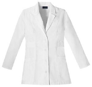 "Cherokee 30"" Lab Coat 2316 WHTC White Free Shipping"