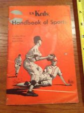 Vintage US Keds Handbook of Sports Little League Rules Guide Book