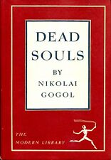 Dead Souls by Nikolai Gogol The Modern Library #40 Hardcover DJ Very Good