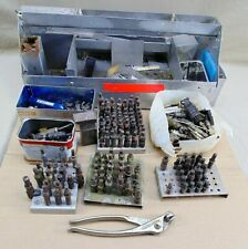 Estate Aviation Aluminum Tool Box Cleco Pliers Fasteners Tools